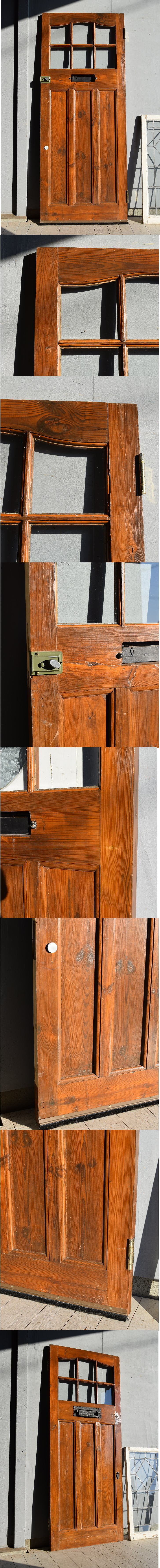 イギリス アンティーク ドア 扉 建具 7587