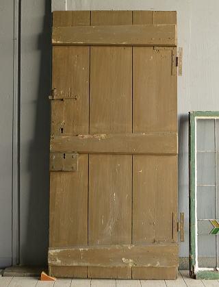 イギリス アンティーク ドア 扉 ディスプレイ 建具 9583