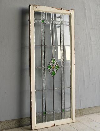 イギリス アンティーク ステンドグラス 窓 7596