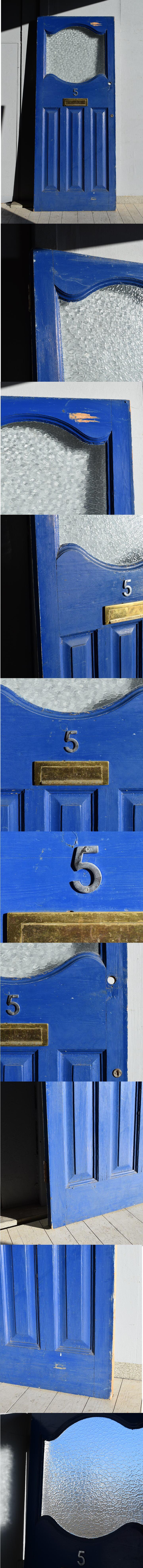 イギリス アンティーク ドア 扉 建具 7603