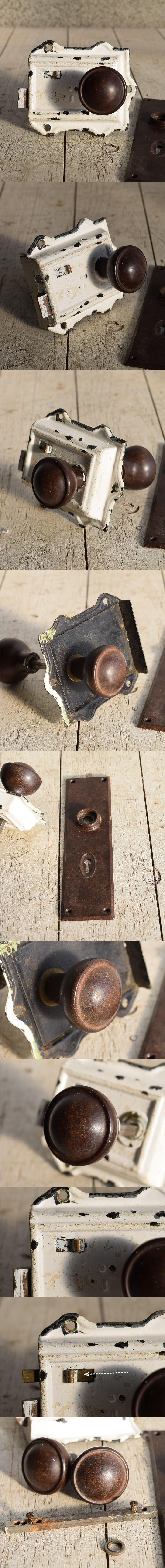 イギリス アンティーク ラッチ&ドアノブ 建具金物 7620