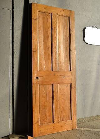 イギリス アンティーク オールドパイン ドア 扉 建具 7629