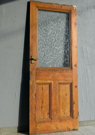 イギリス アンティーク ガラス ドア 扉 ディスプレイ 建具 7646