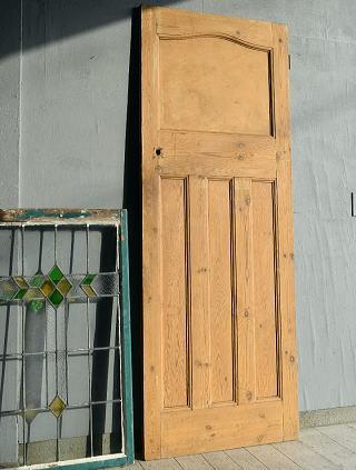 イギリス アンティーク オールドパイン ドア 扉 建具 7647