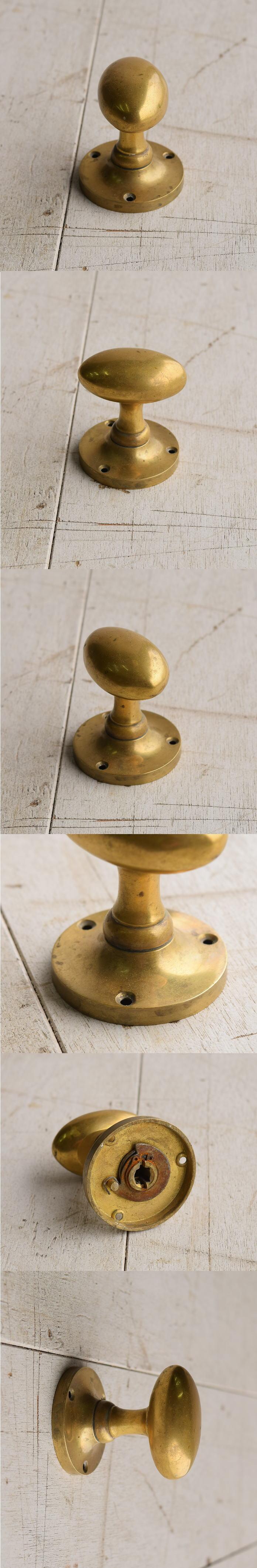 イギリス アンティーク 真鍮 ドアノブ 建具金物 握り玉 7667