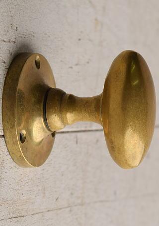 イギリス アンティーク 真鍮 ドアノブ 建具金物 握り玉 7668