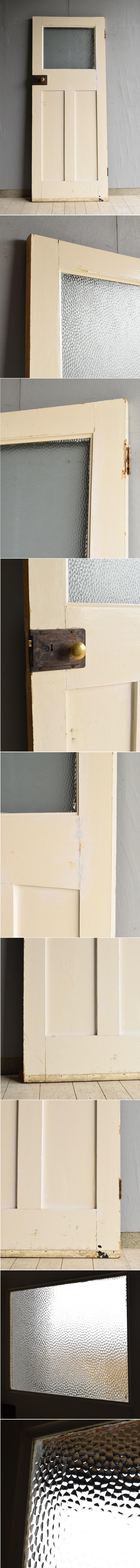 イギリス アンティーク ガラス ドア 扉 ディスプレイ 建具 7678