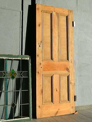 イギリス アンティーク オールドパイン ドア 扉 建具 7680
