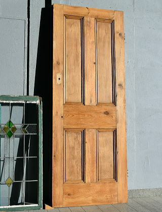イギリス アンティーク オールドパイン ドア 扉 建具 7682