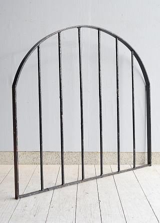 イギリス アンティーク アイアンフェンス ゲート柵 ガーデニング 9568