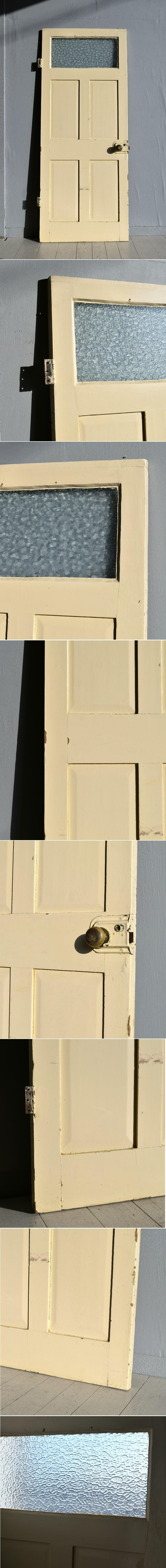 イギリス アンティーク ガラス ドア 扉 ディスプレイ 建具 7698