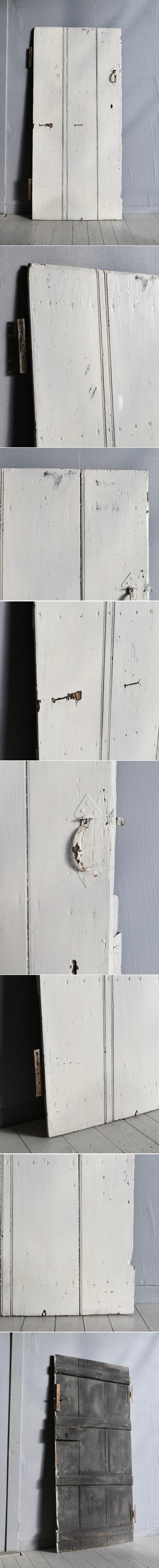 イギリス アンティーク ドア 扉 ディスプレイ 建具 7705