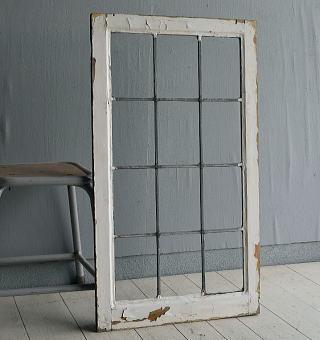 イギリス アンティーク 窓 無色透明 7722A