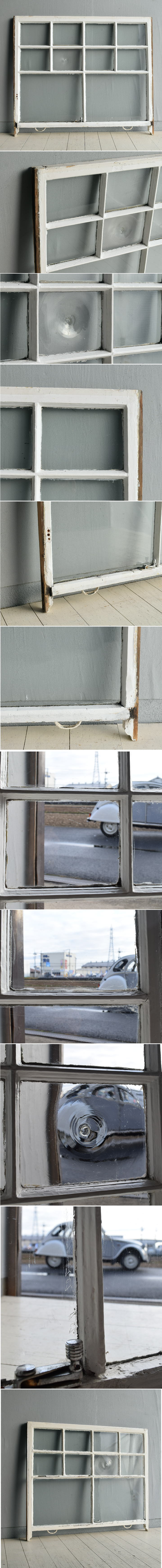 イギリス アンティーク 窓 無色透明 7723A