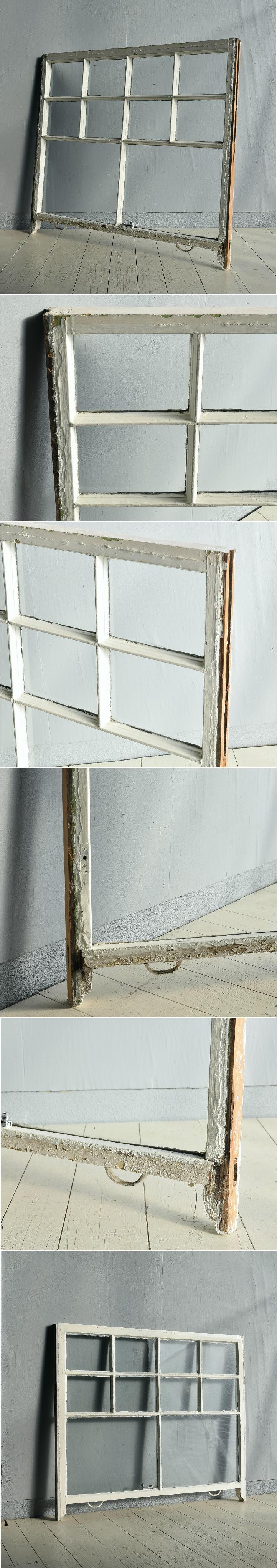 イギリス アンティーク 窓 無色透明 7723C
