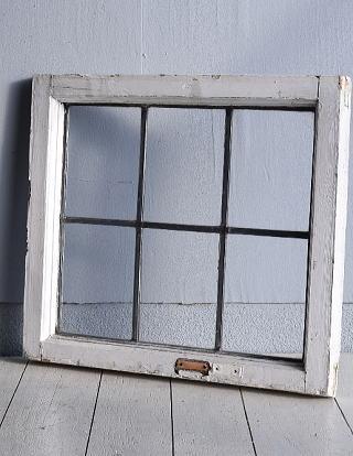 イギリス アンティーク 窓 無色透明 7735A