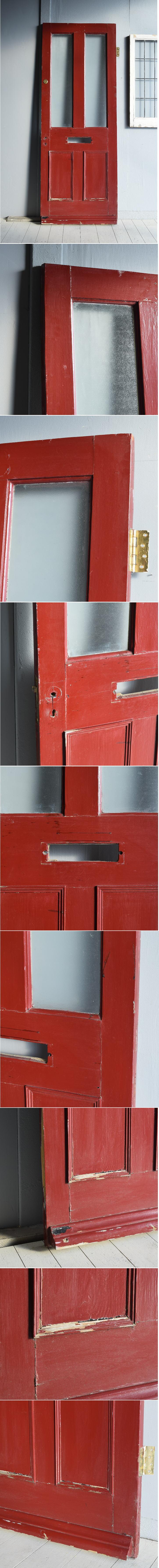 イギリス アンティーク ガラス ドア 扉 ディスプレイ 建具 7750