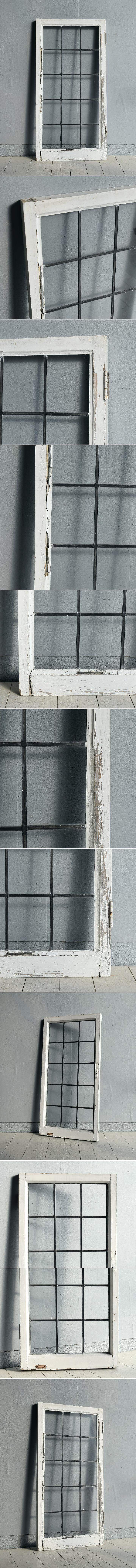 イギリス アンティーク 窓 無色透明 7751