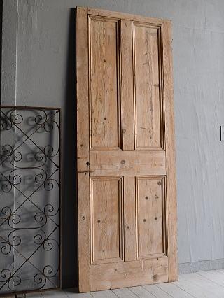 イギリス アンティーク オールドパイン ドア 扉 建具 7759