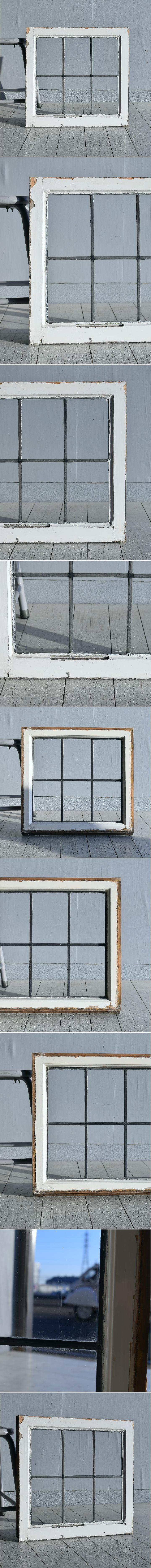 イギリス アンティーク 窓 無色透明 7774B