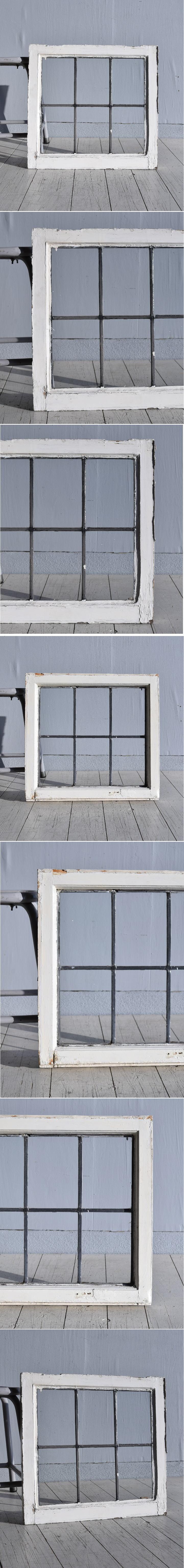 イギリス アンティーク 窓 無色透明 7774D