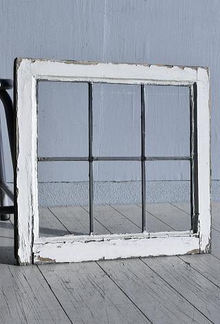 イギリス アンティーク 窓 無色透明 7774E