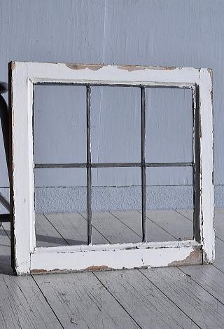 イギリス アンティーク 窓 無色透明 7774F