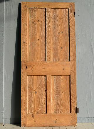 イギリス アンティーク オールドパイン ドア 扉 建具 7790