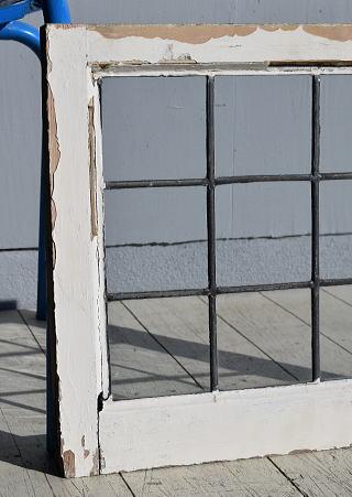 イギリス アンティーク 窓 無色透明 7807