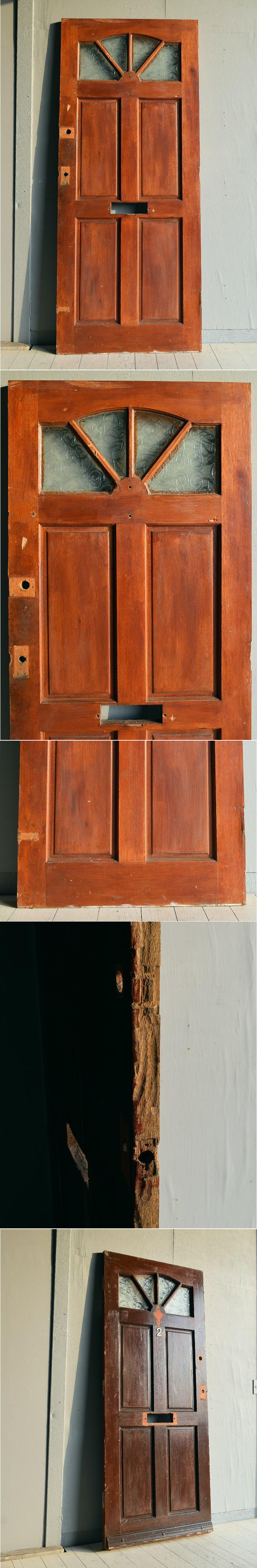 イギリス アンティーク ドア 扉 建具 ディスプレイ 7811
