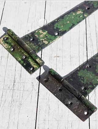 イギリス アンティーク 鉄製ヒンジ 建具金物 7851