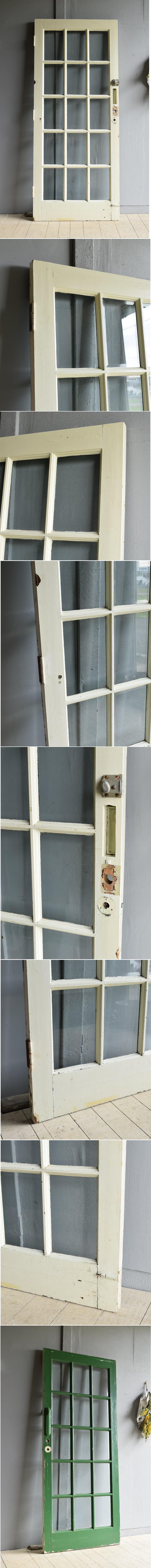 イギリス アンティーク ドア 扉 建具 7937