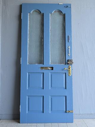 イギリス アンティーク ガラス ドア 扉 ディスプレイ 建具 7959
