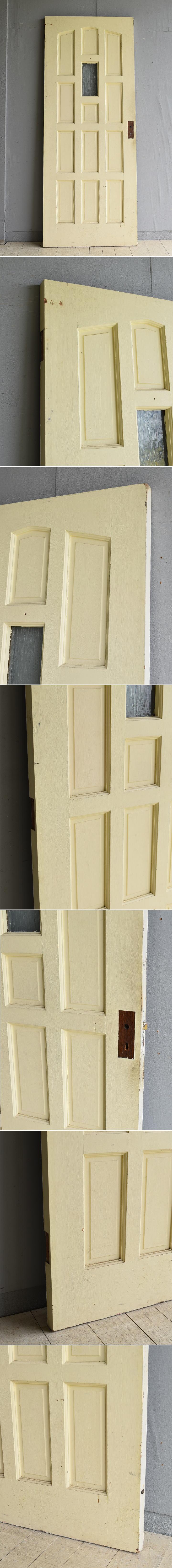 イギリス アンティーク ガラス ドア 扉 ディスプレイ 建具 7968