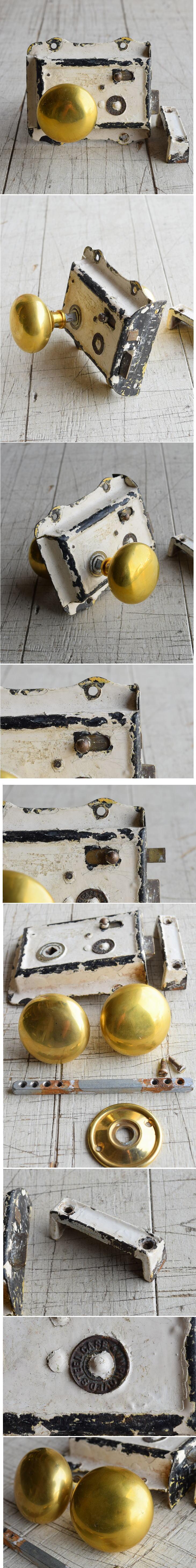 イギリス アンティーク ラッチ&ドアノブ 建具金物 7976