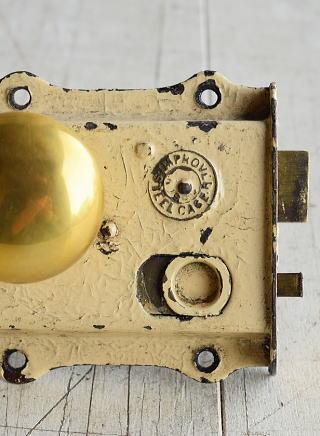 イギリス アンティーク ラッチ&ドアノブ 建具金物 7979
