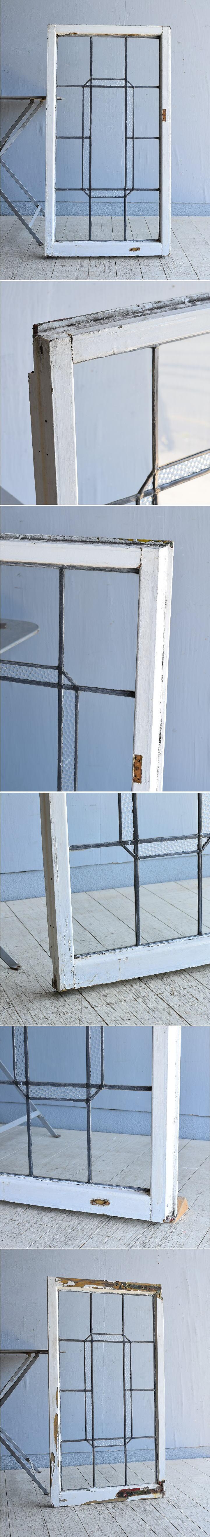 イギリス アンティーク 窓 無色透明 8000