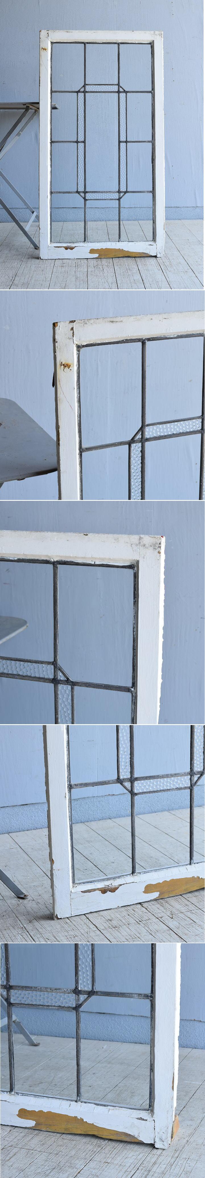 イギリス アンティーク 窓 無色透明 8002