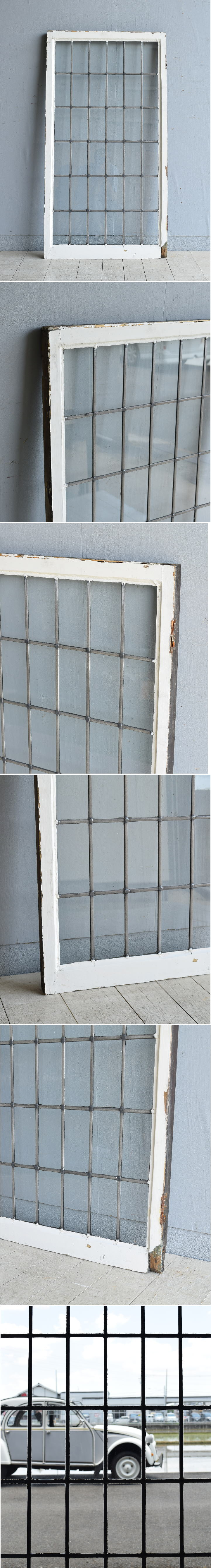 イギリス アンティーク 窓 無色透明 8003