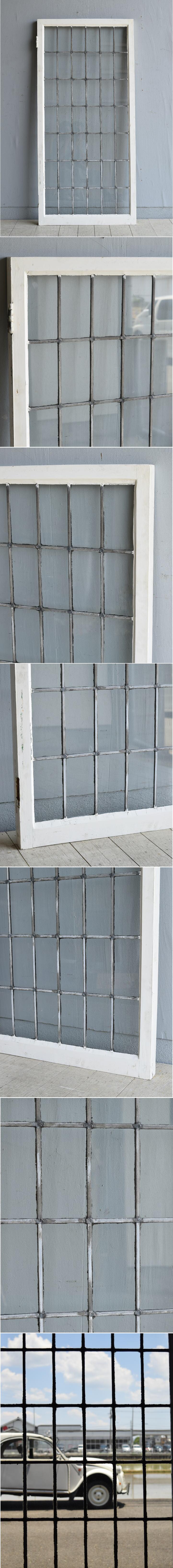 イギリス アンティーク 窓 無色透明 8004