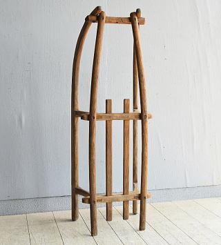 (旧)東ドイツ製 アンティーク 木製ソリ 8051