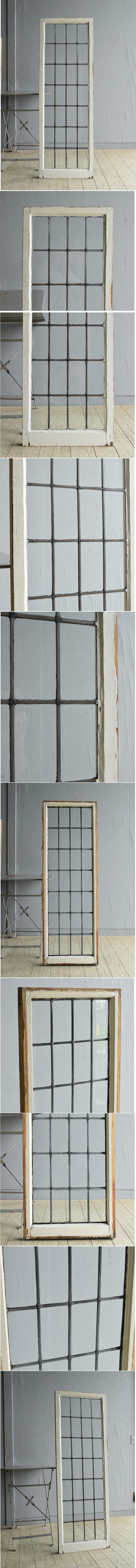 イギリス アンティーク 窓 無色透明 8055