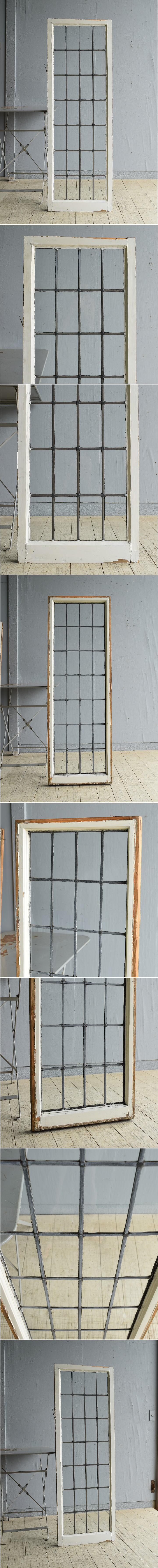 イギリス アンティーク 窓 無色透明 8056