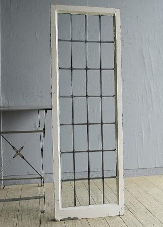 イギリス アンティーク 窓 無色透明 8057