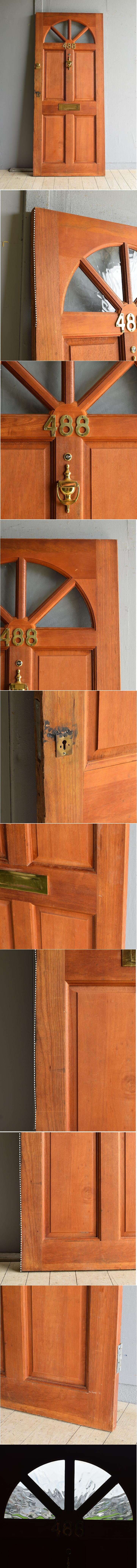 イギリス アンティーク ドア 扉 建具 8064