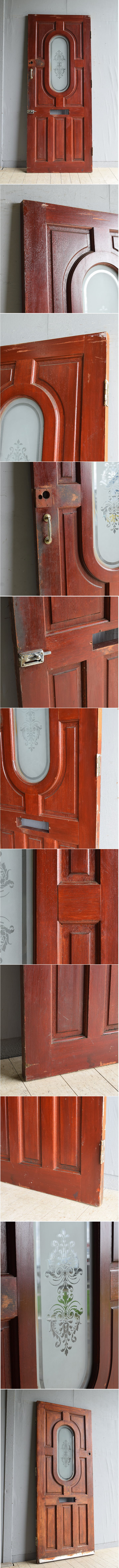 イギリス アンティーク ドア 扉 建具 8069