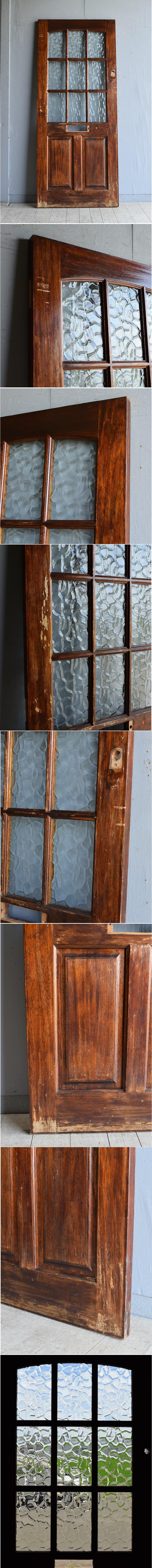 イギリス アンティーク ドア 扉 建具 8087
