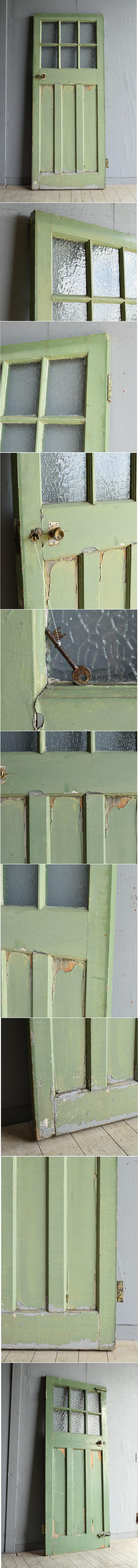 イギリス アンティーク ドア 扉 建具 8109