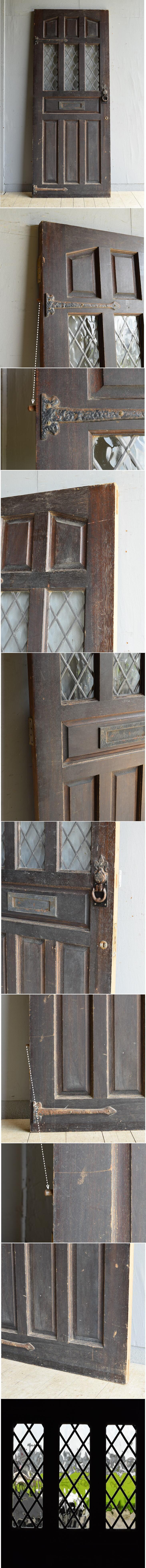 イギリス アンティーク ドア 扉 建具 8118