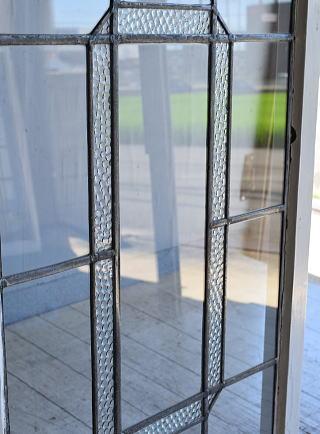 イギリス アンティーク 窓 無色透明 8153